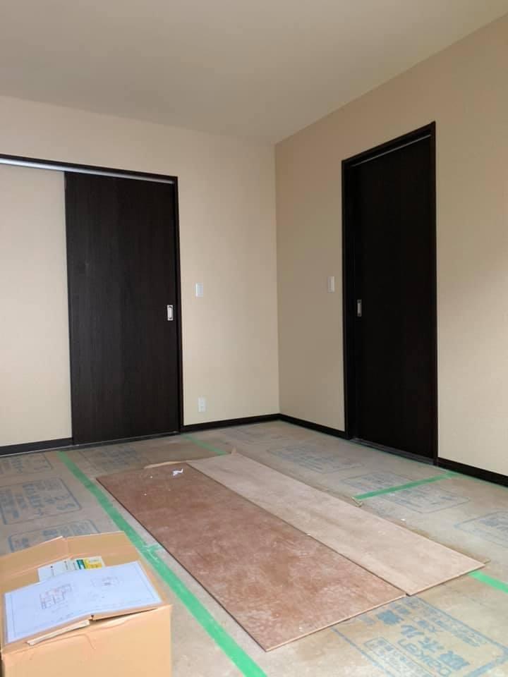 鳥取県米子市 家族が増え手狭になったお部屋を増築工事 2019.2